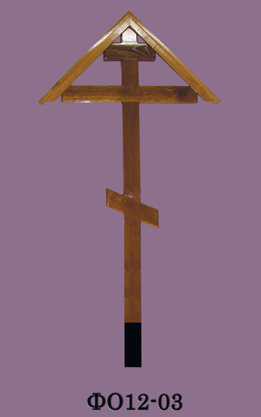Крест на могилу ( деревянный) ФО12-03